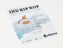 Festival Ind'Hip'Hop // Affiche